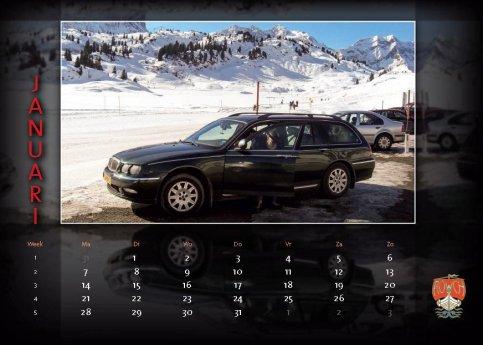 tipje van de sluier..... de Kalender 2013 !!